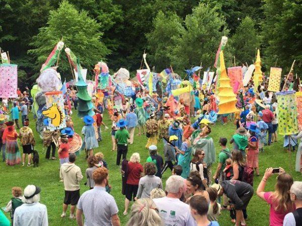 2015 Liberty Parade in Todd. Photos Courtesty of Elkland Art Center.