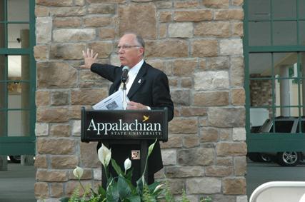 Chancellor Ken Peacock