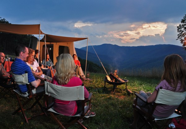 Camping near Blowing Rock - Photo by Todd Bush