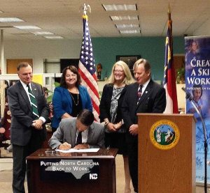 McCory signs the bill into law.