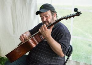 Richard Watson at the MusicFest 'n Sugar Grove - Photo by Lonnie Webster