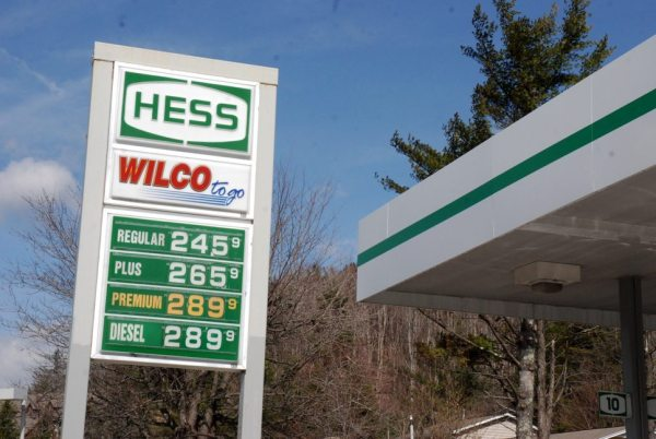 Gas prices jumped about 10 cents in the High Country recently. Photo by Ken Ketchie