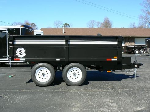 One of the trailers most recently stolen.