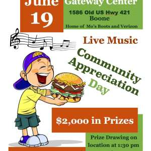 Community Appreciation Day on June 19: Fun for the Whole Family in Boone!