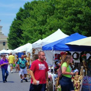 Mt. Mitchell Crafts Fair Returns to Burnsville's Town Square August 6-7 After Pandemic Pause