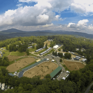Blowing Rock Horse Show's Famed Show Ring Was Dedicated to Sallie and Kenny Wheeler