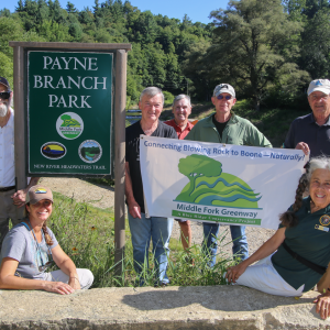 Payne Branch Park Open and Flourishing Thanks to Middle Fork Greenway Task Force