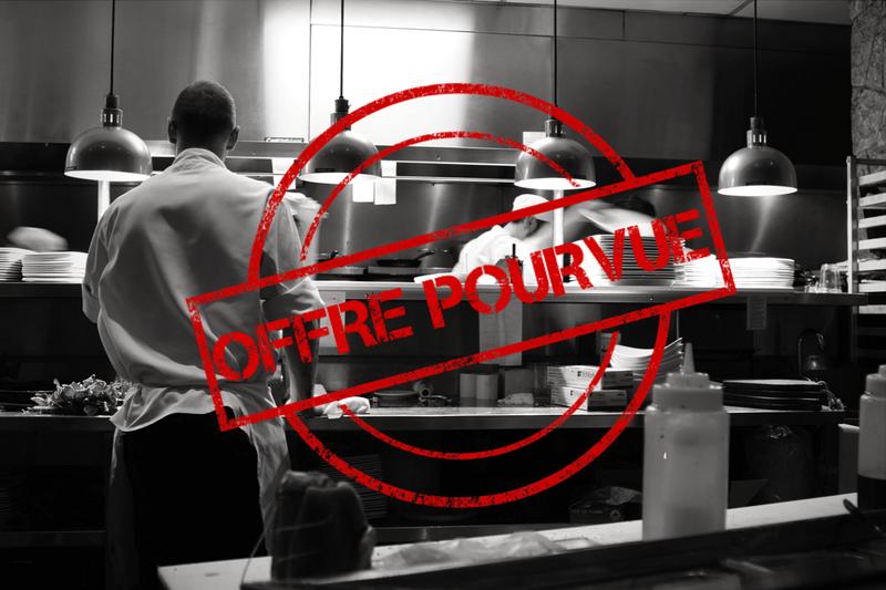Consultez nos offres d 39 emplois qualifi s en h tellerie for Second de cuisine