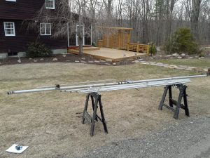 "3 Element, 15m beam, 16' x 2"" boom - Unknown Mfg."