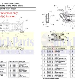 93642 drawing for amazon floor jack 2 ton download pdf [ 1200 x 826 Pixel ]