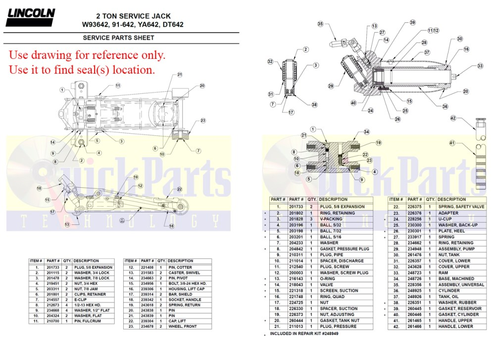 medium resolution of 93642 drawing for amazon floor jack 2 ton download pdf