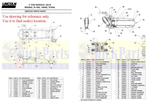 small resolution of 93642 drawing for amazon floor jack 2 ton download pdf
