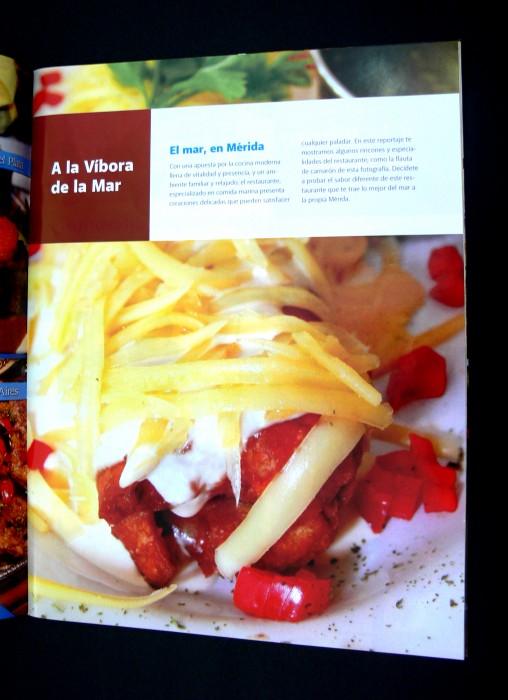 Página principal, sección El restaurante