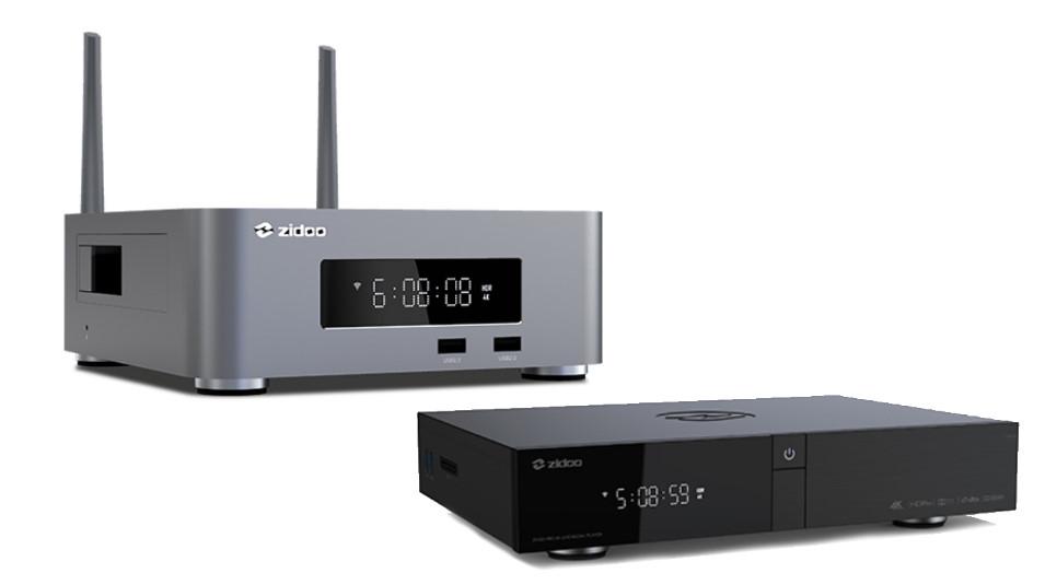 Lecteurs Z10 Pro et Z1000 Pro (de gauche à droite)