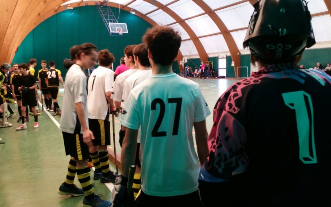 Hockey indoor: esordio per i ragazzi dell'under 16 e under 18