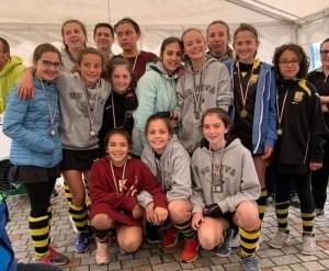 U14F – Quinto posto in Italia