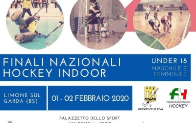 Al via le finali Under 18 maschili e femminili a Limone