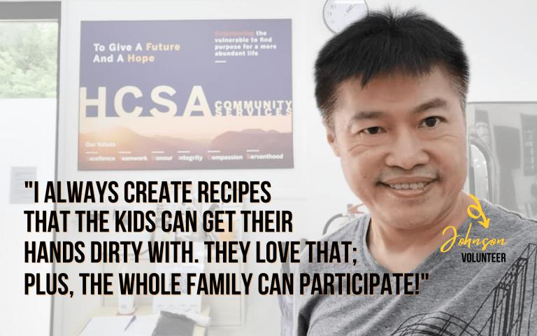 Father's Day 2021 - HCSA volunteer Johnson