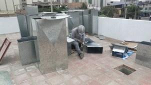 Instalación de ductos de Ventilación