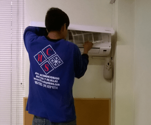 Mantenimientos de filtros de aire acondicionado