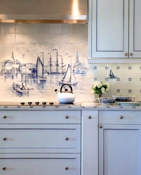 Nautical style kitchen ideas  HCSupplies Help  Ideas