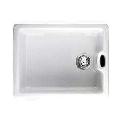 Porcelain Kitchen Sink Two Seat Table Sinks Trade Prices Rangemaster Classic Belfast 1 0 Bowl Ceramic Undermount White