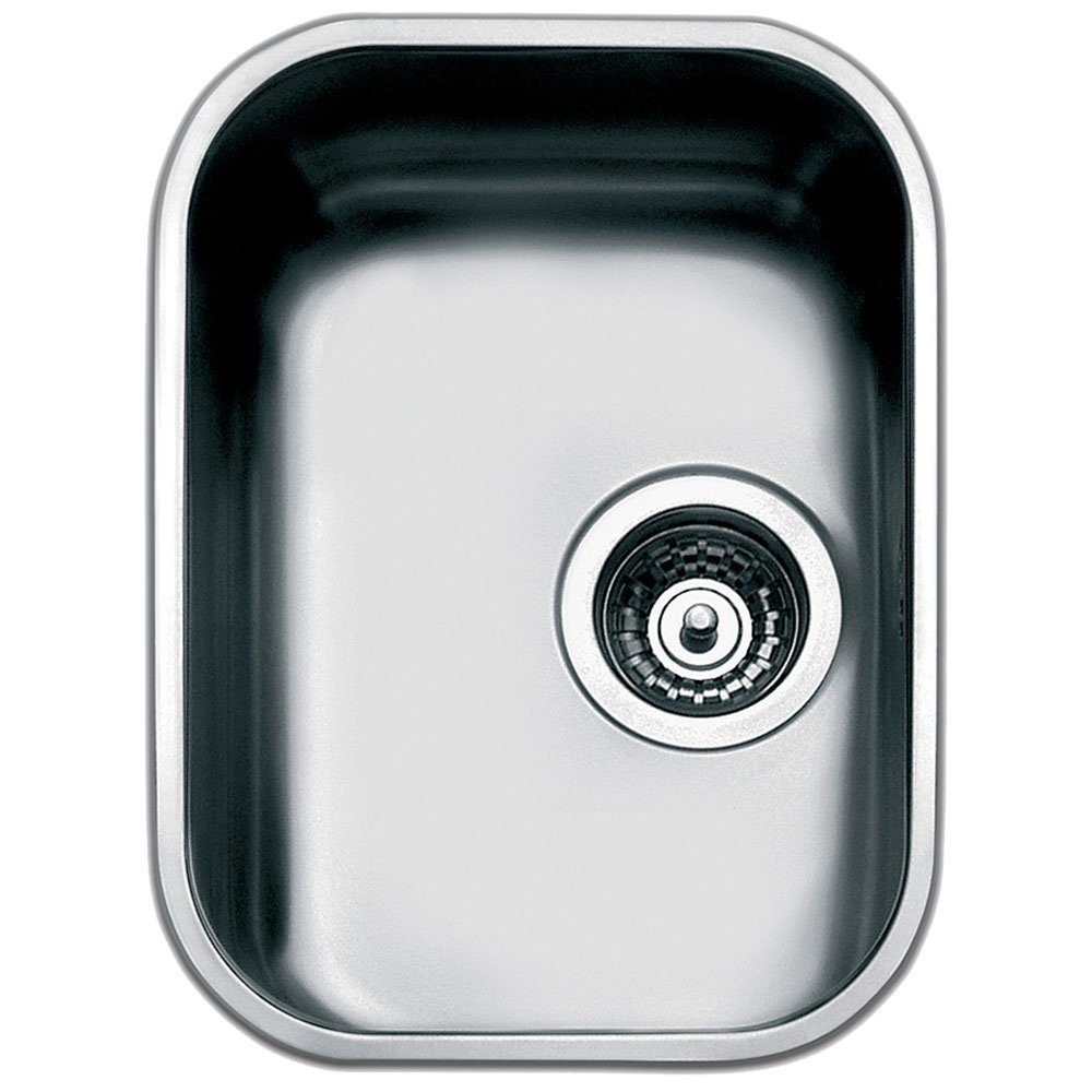 compact kitchen sink bench seating for sinks trade prices smeg alba um30 1 0 bowl stainless steel undermount