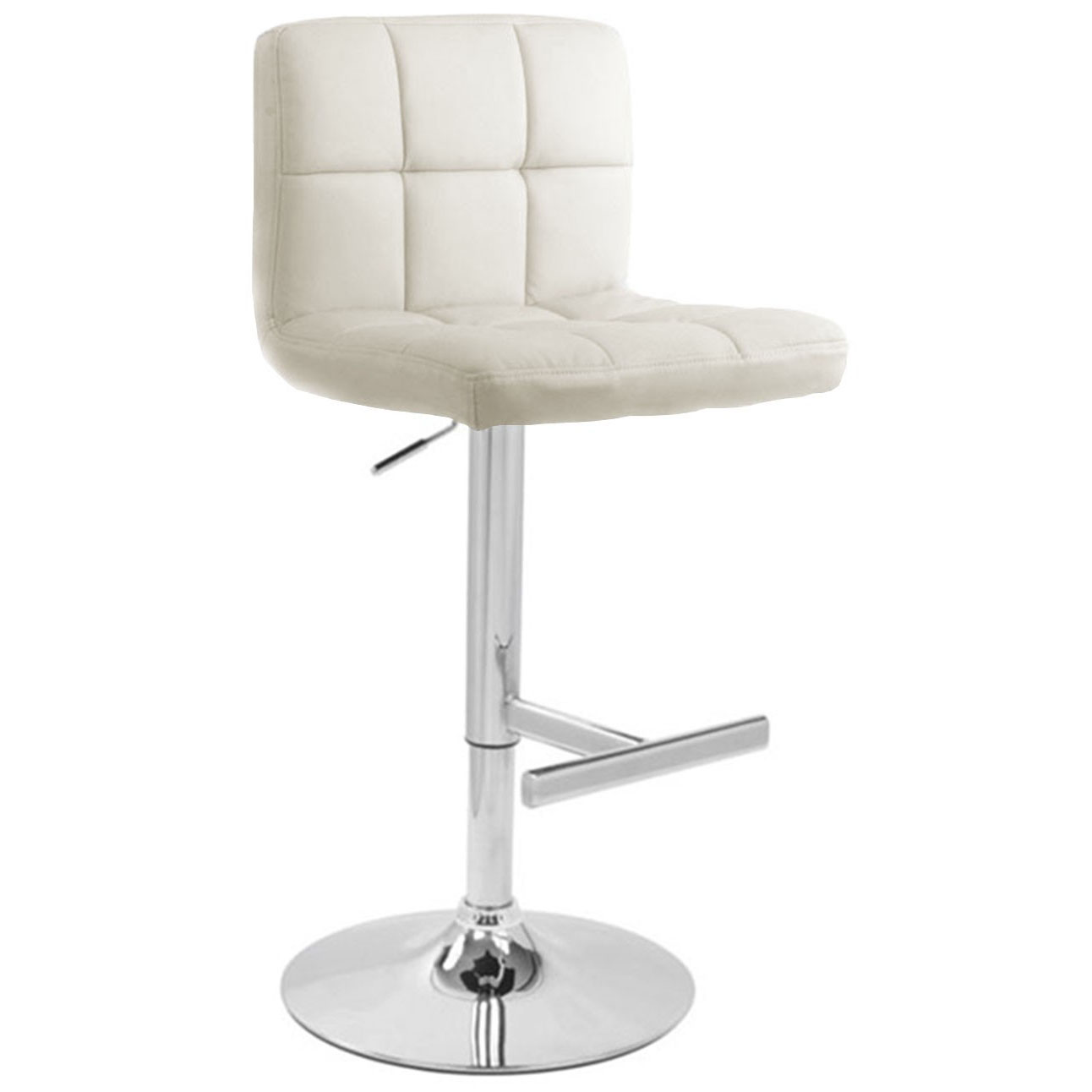 white leather bar chair tub accent stools cheap kitchen