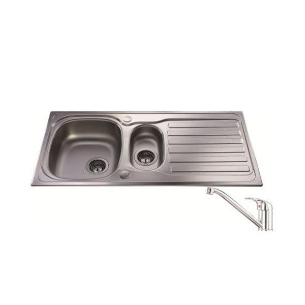 cheap kitchen sink and tap sets granite countertops pictures cda pack 3 size: width: 1000mm ...