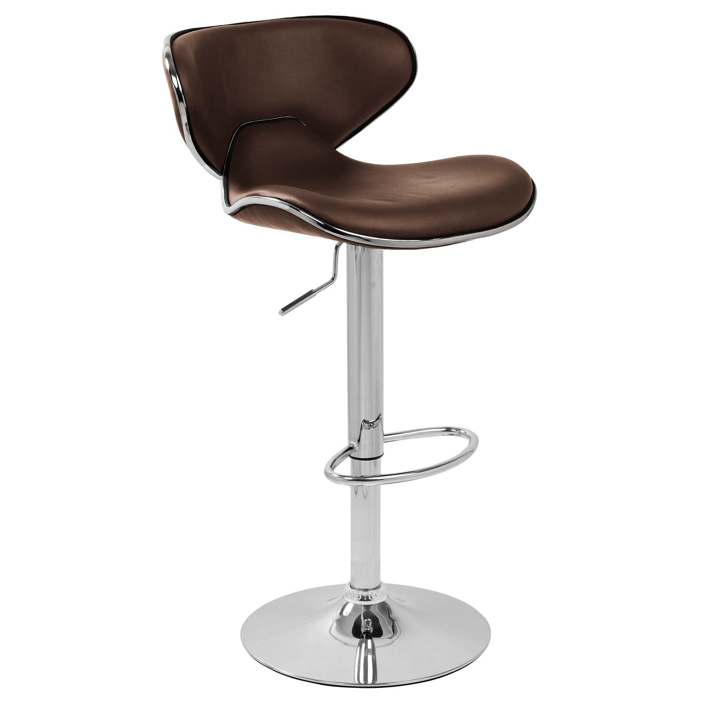 bar stool chairs true office carcaso brown