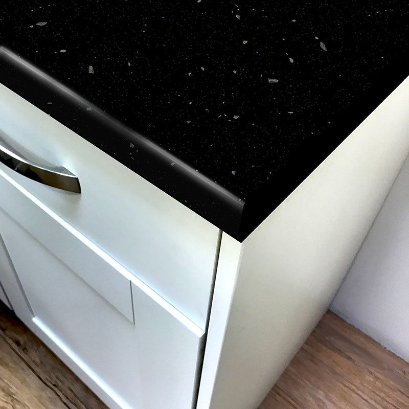 cheap kitchen islands best appliances stardust black rough stone laminate worktop - pro-top ...