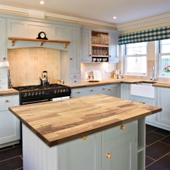 Kitchen Tops Wood Moen Sink Faucets Solid Worktops Wooden Farmhouse Oak