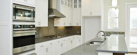 grey kitchen countertops milos quartz cheap