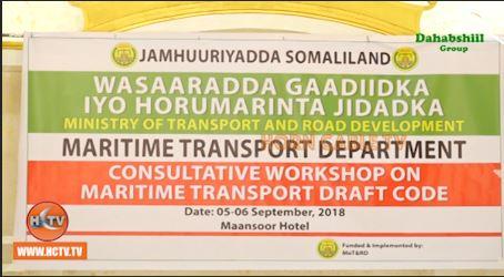 Somaliland: Gaadiidka Bada Oo Sharci Oo Loo Samaynayo.