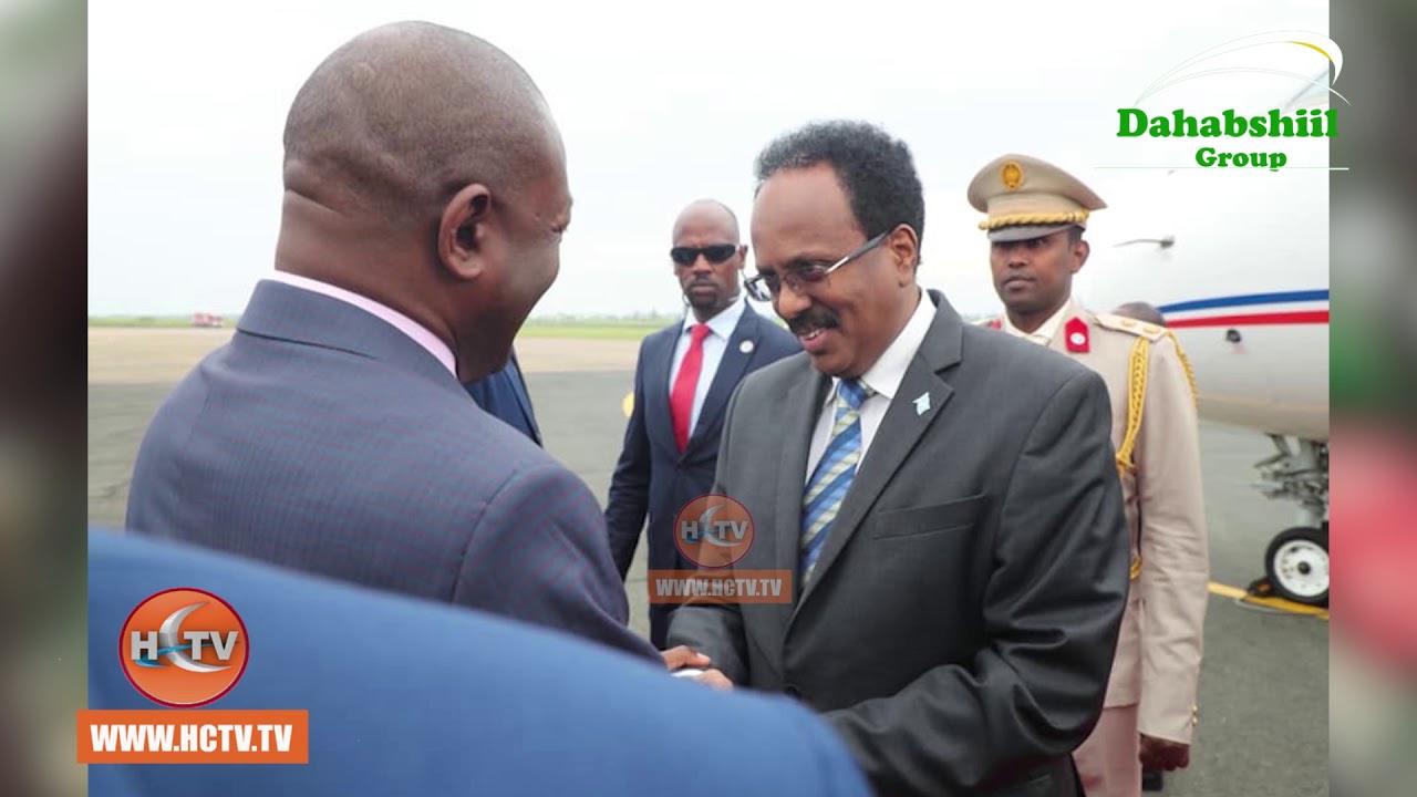 Madaxda Soomaaliya iyo Burundi oo ka Arrinsaday Bixitaanka AMISOM.