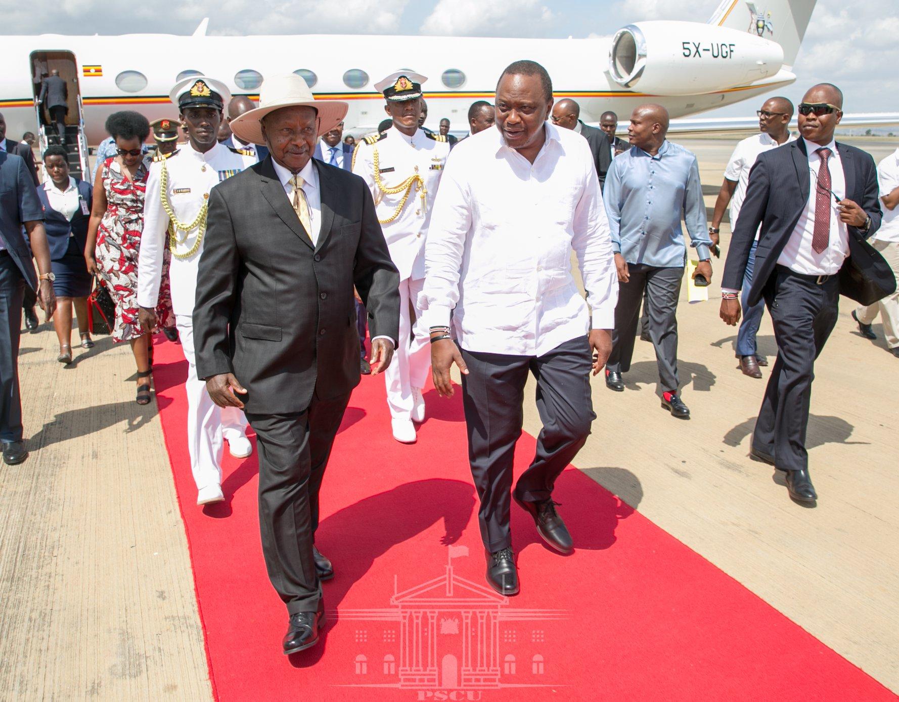 Kenya Oo Dhul Siisay Uganda