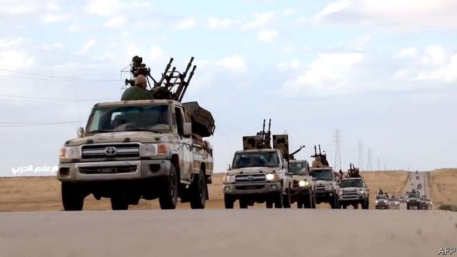 Caasimada Libya Oo Qarka U Saaran In Dagaal Ka Qarxo