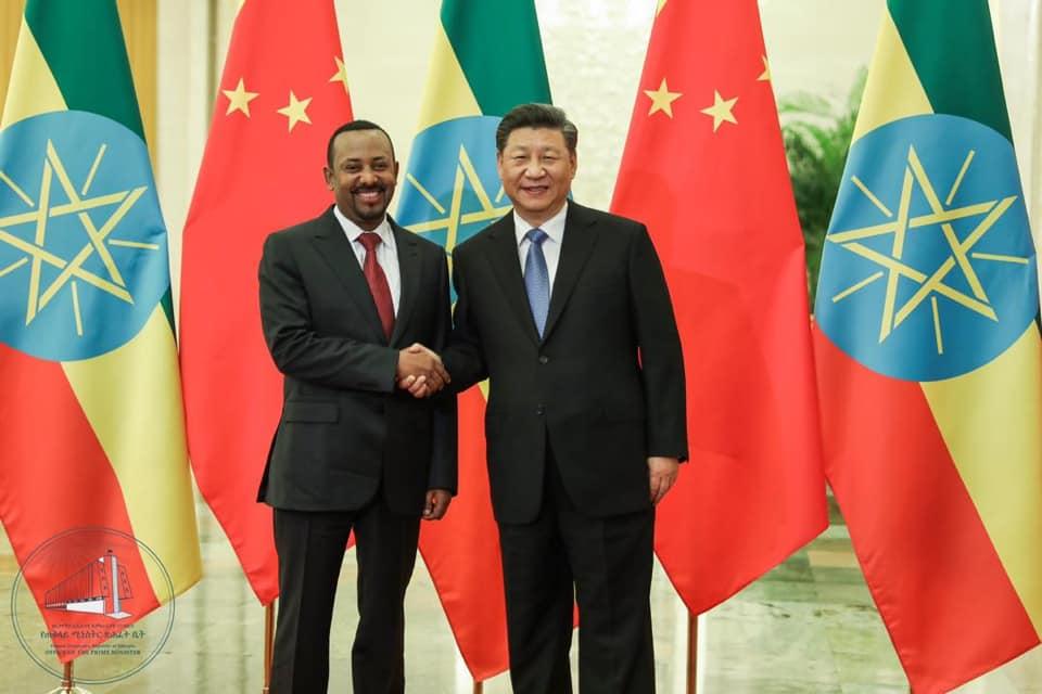 Raysal Wasaaraha Ethiopia Oo Socdaal Ku Tagay China