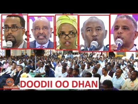 DAAWO : Dooddii Siyaasiyiinta ee  Wadaxaajoodka Soomaaliya oo Dhamaystiran