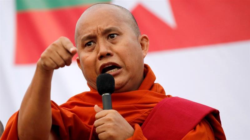 Myanmar Oo Soo Saartay Waaran Lagu Soo Xidhayo Wadaad Buddhiste Ah