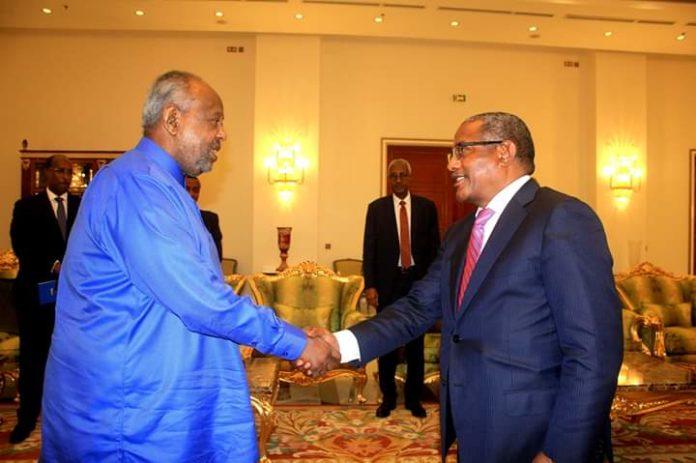 Wasiirka Arimaha Dibada Ethiopia Oo Kulan La Yeeshay Madaxweynaha Djibouti
