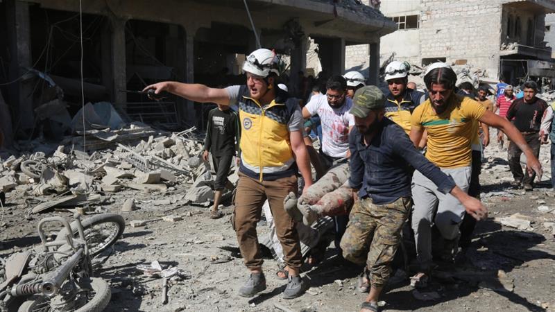 16 Qof Oo Ku Dhintay Weerar Dhinaca Cirka Oo Lala Beegsaday Gobolka Idlib Ee Suuriya