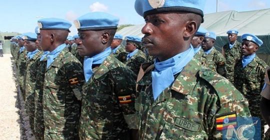Ujeedada Hawlgalka Ciidamo Ka Socda Uganda Oo Soo Gaadhay Somalia