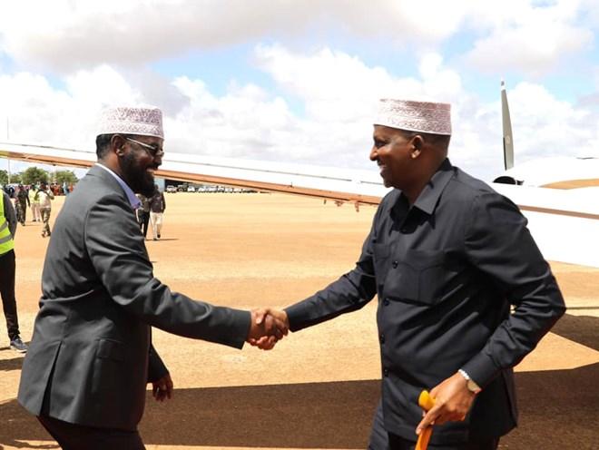 Kenya Oo Wefti U Soo Dirtay Caleemo-saarka Madaxweyne Axmed-Madoobe
