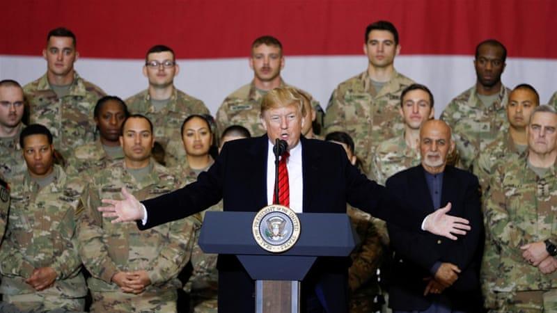Trump Oo Socdaal Layaab Leh Ku Tagay Afghanistan