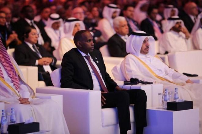 Qatar: Raysal Wasaare Khayre Oo Shir Kaga Qaybgalay Doxa