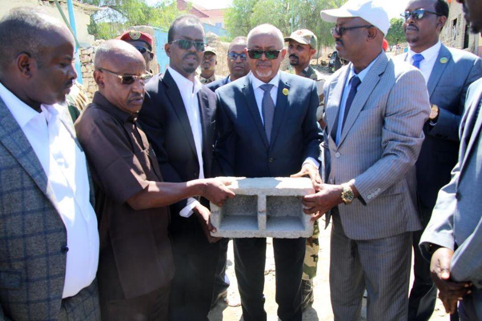Boorama: Madaxweyne Ku Xigeenka Somaliland Oo Kormeeray Mashuurca JPLG