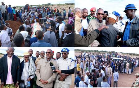 Madaxweynaha Somaliland Oo Ka Qayb-galay Aas Qaran Oo Loo Sameeyey Qoys Guri Ku Dumay