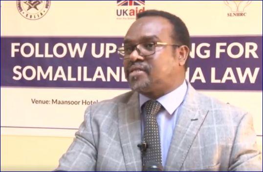Wasiir Koorre Oo Sheegay In Saxaafadu Maalin Kasta Qof Reer Somaliland Ah Xuquuqdiisa Meel Kaga Dhacdo