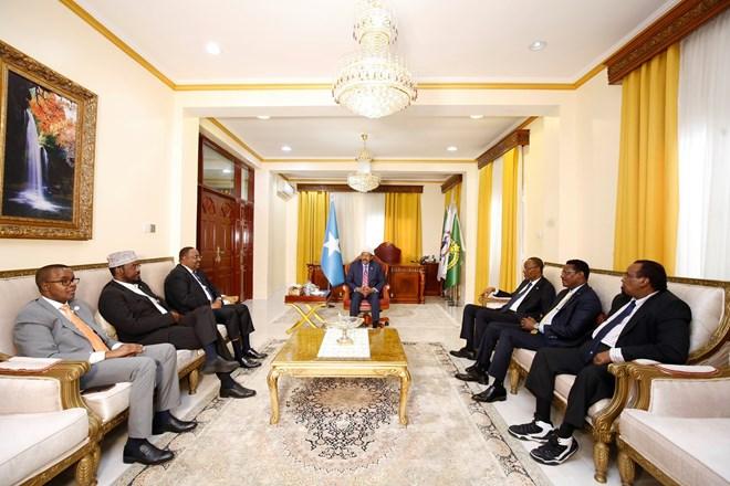 Madaxweyne Farmaajo Oo Furay Shirka Wadatashiga Dowladda Federalka Iyo Maamul Goboleedyada Somalia